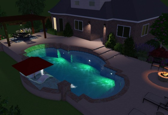 3D POOL VISUALIZATION